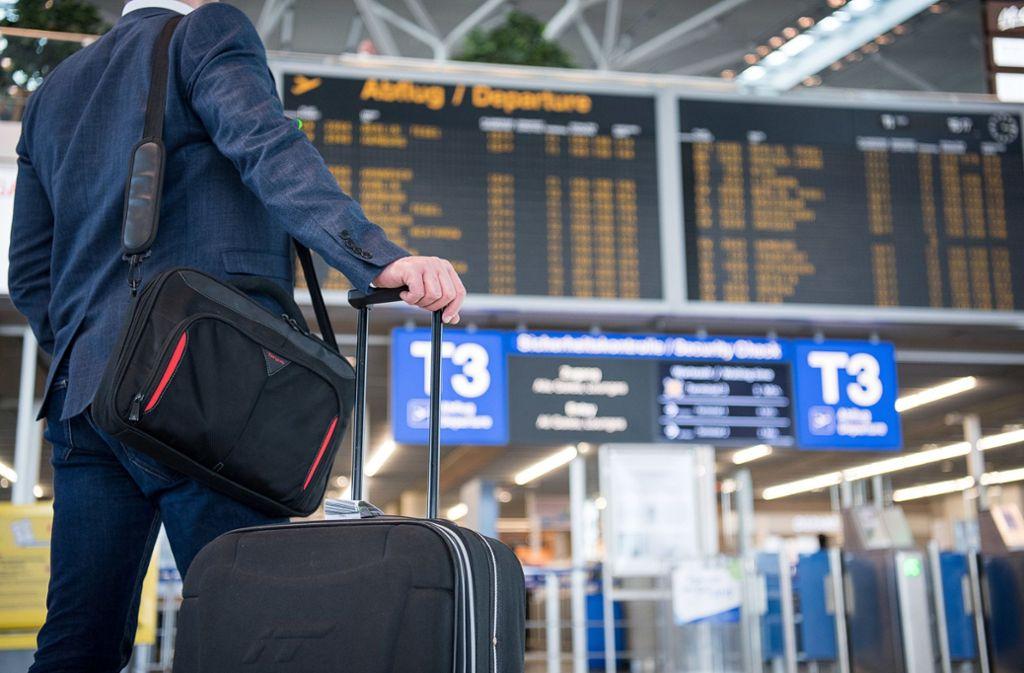 Ryanair-Passagiere in Stuttgart sind von den Folgen des Pilotenstreiks bislang nicht betroffen. (Symbolbild) Foto: dpa
