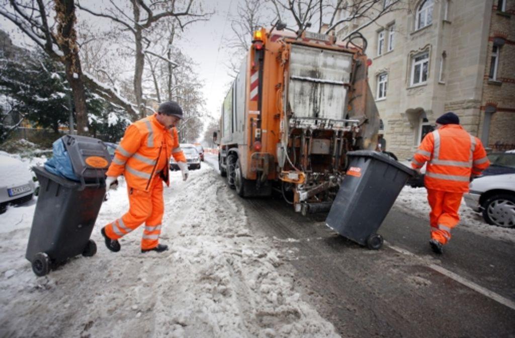 Die Entsorgung des Hausmülls wird in Stuttgart billiger. Foto: Steinert