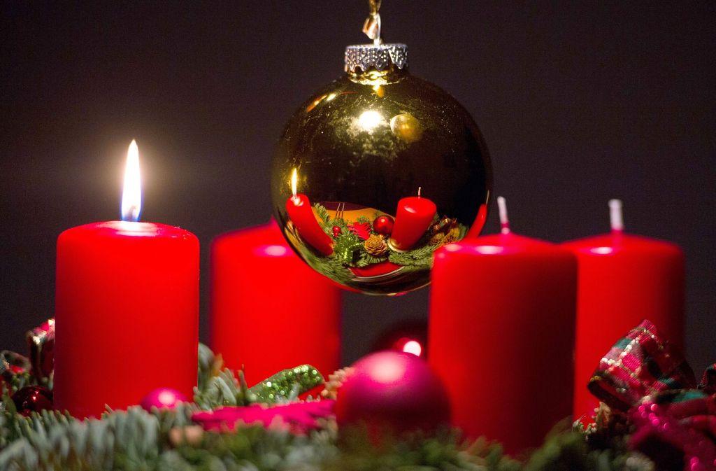 Am 3. Dezember beginnt in diesem Jahr die Adventszeit. Für viele Menschen ist sie die schönste Zeit des Jahres. Foto: dpa