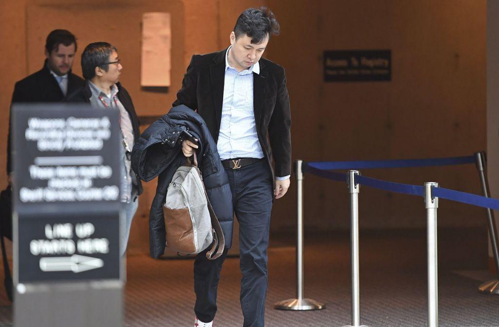 Mengs Ehemann Liu Xiaozong hat eine Millionenkaution geboten. Foto: The Canadian Press/AP