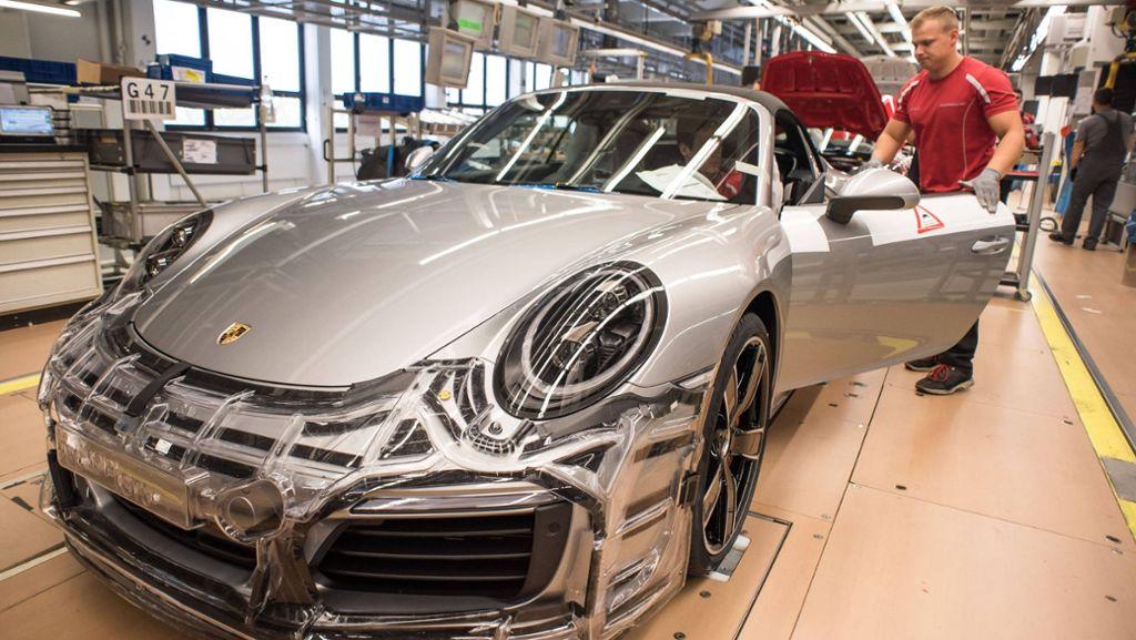 Porsche-Rekordprämie zeigt großes Gehaltsgefälle auf