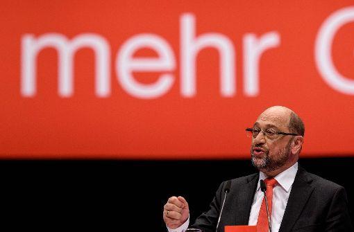Schon wieder 100 Prozent für Schulz