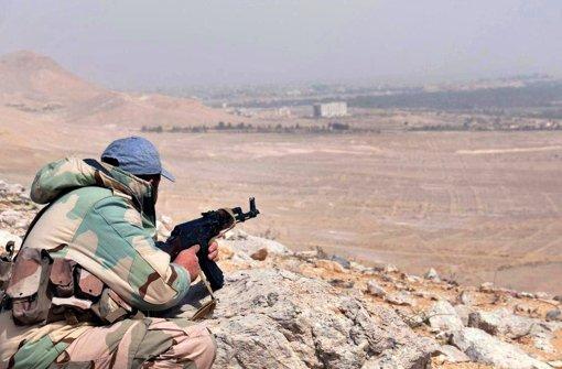 Assad feiert Wiedereroberung Palmyras