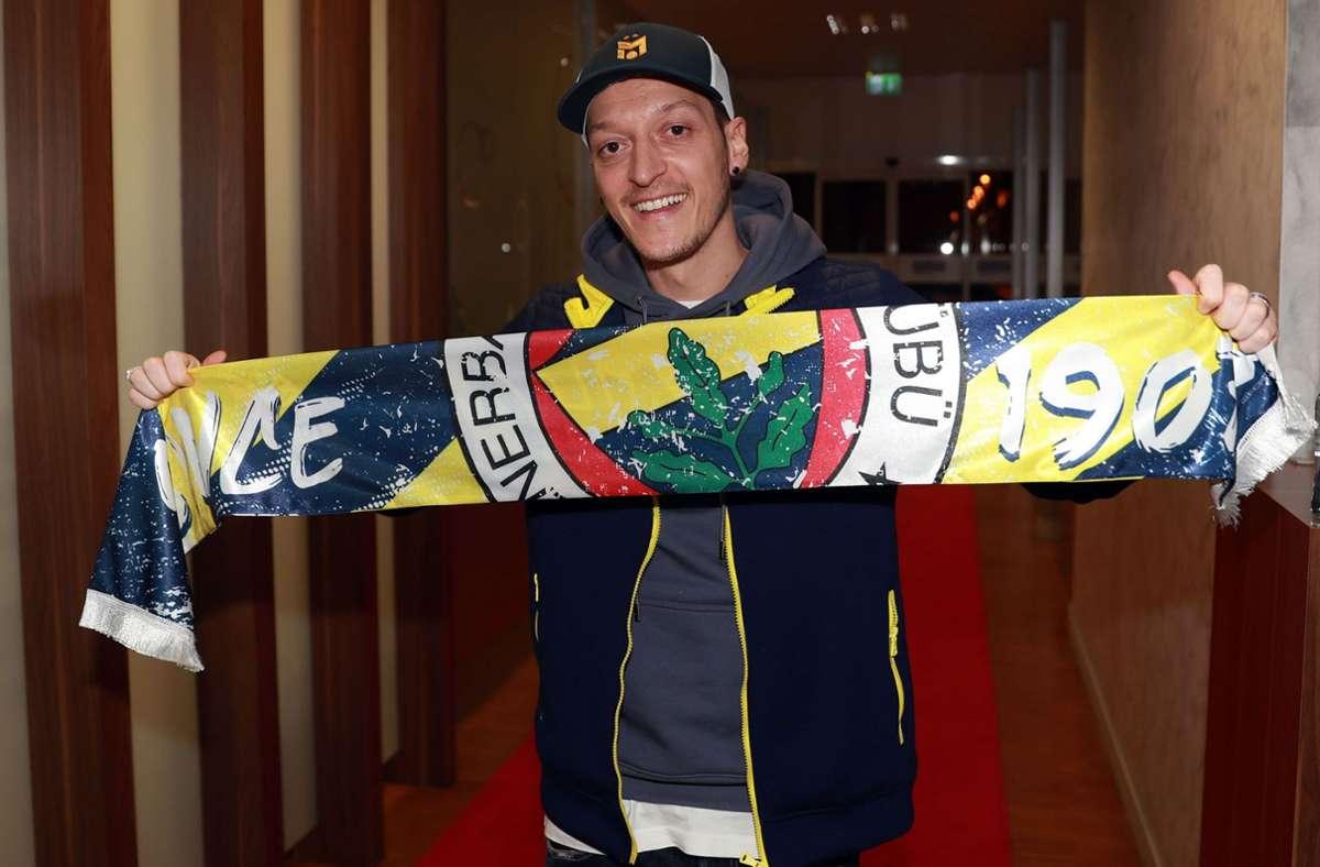 Mesut Özil spielt künftig für Fenerbahce Istanbul. Foto: AFP