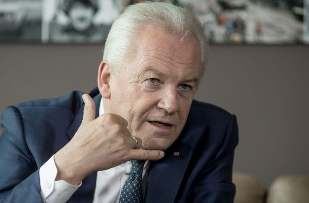 Rüdiger Grube bleibt in Sachen Tunnelbau im Geschäft. Foto: dpa