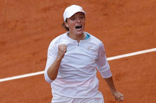 Polin Iga Swiatek gewinnt ihren ersten Grand-Slam-Titel