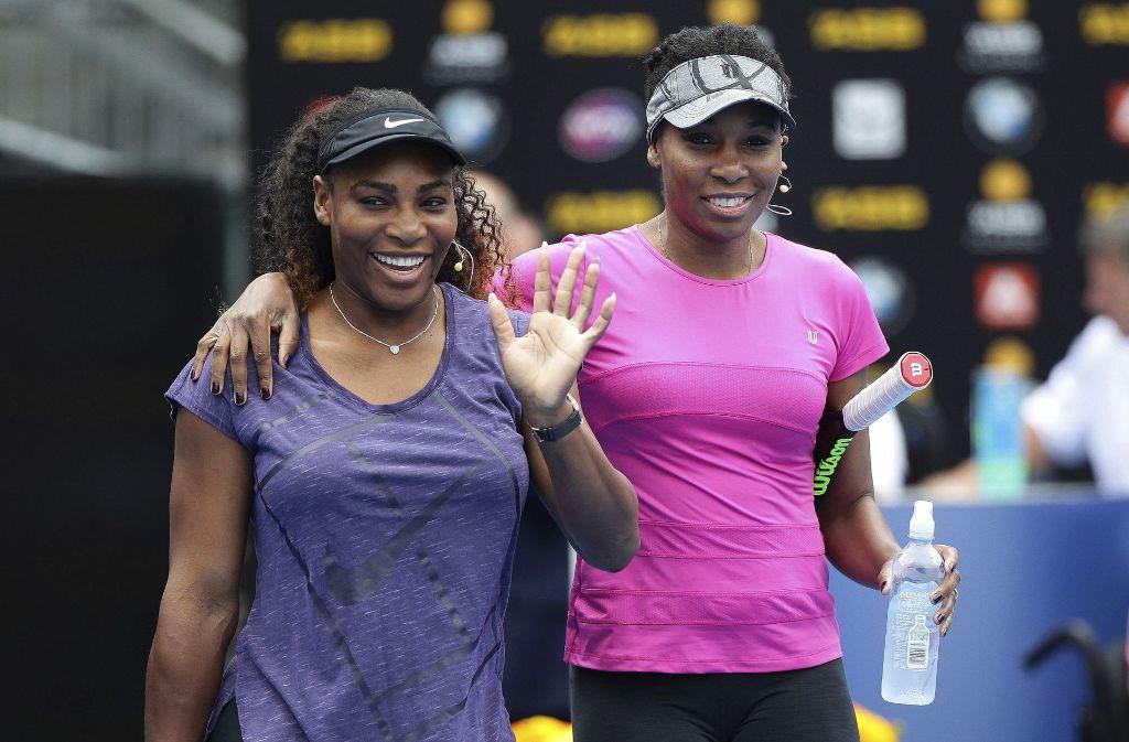 Serena (links) gegen Venus Williams – der Sister Act in Melbourne ist perfekt. Foto: NZ Herald