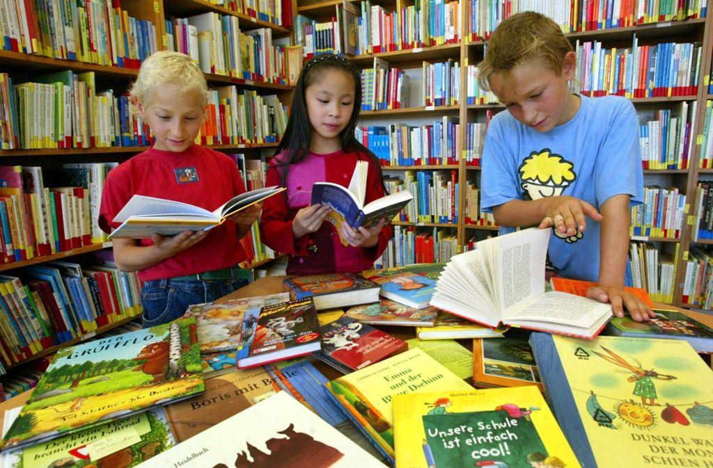 Idealer Zustand: Jugend liest! Foto: dpa-Zentralbild