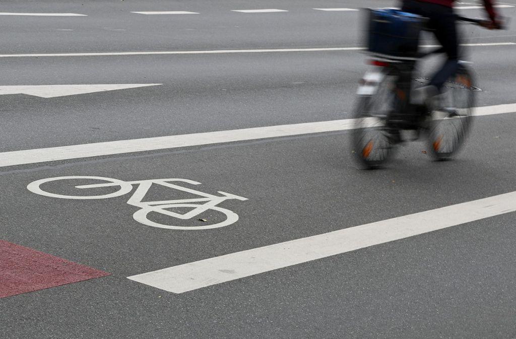 In Ludwigsburg ist ein Radfahrer verletzt worden. Foto: dpa