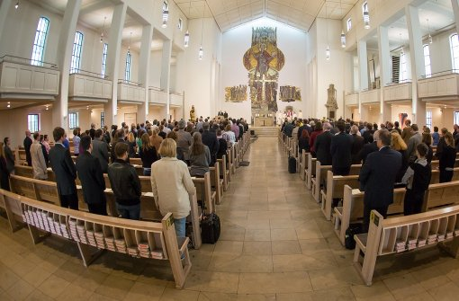 Katholiken beten für ermordeten Priester