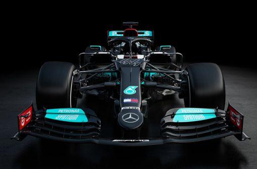 So sieht der neue Silberpfeil von Mercedes aus