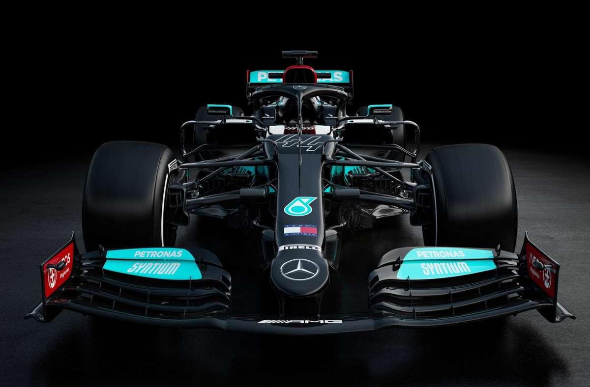 Mit diesem Auto will Mercedes wieder den Titel gewinnen. Foto: dpa