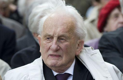 Dramatiker Rolf Hochhuth gestorben