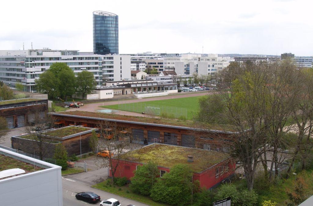 Den Versicherungskonzern Allianz zieht es nach Vaihingen. Foto: Rüdiger Ott