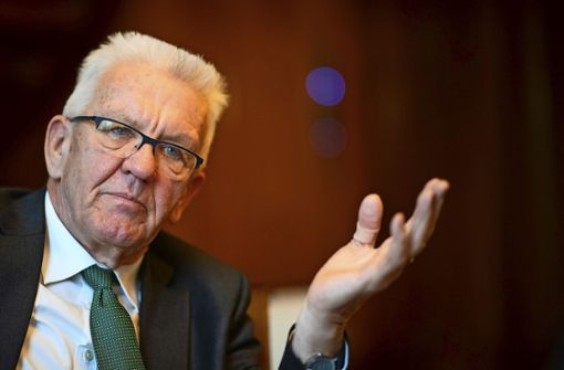 Winfried Kretschmann appelliert an Bürger