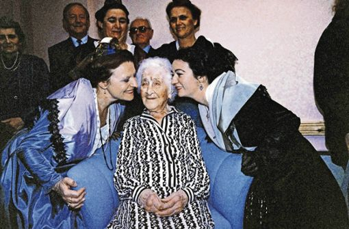 Wie alt war der  älteste Mensch der Welt?