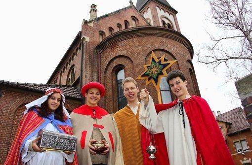 Auf Tour mit Caspar, Melchior und Balthasar
