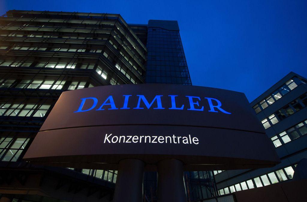 Der Daimler-Konzern will durch die Ausgliederungen flexibler werden. Foto: dpa