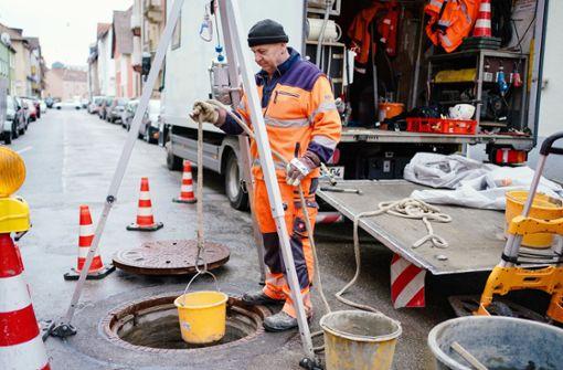 Mammutaufgabe Kanalsanierung –   Personal dringend gesucht
