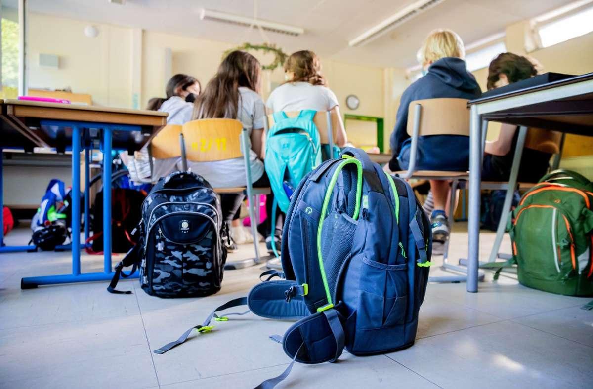 Coronavirus in Schulen (Symbolbild) Foto: dpa/Christoph Soeder