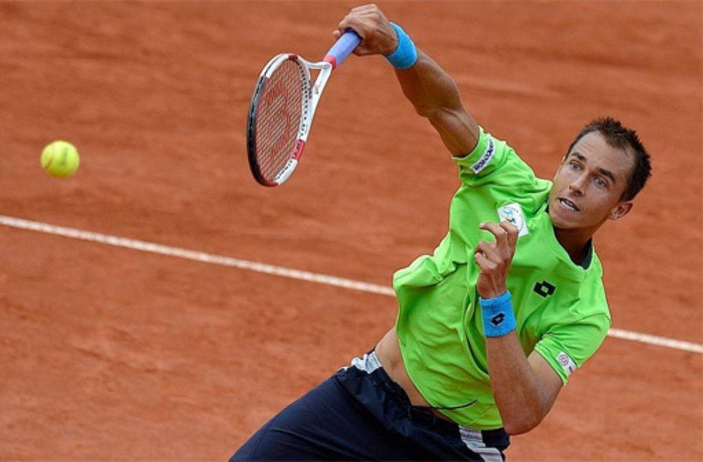 Der Tscheche Rosol erreicht als zweiter Spieler das Finale des Stuttgarter Weißenhof-Turniers.  Foto: Getty Images