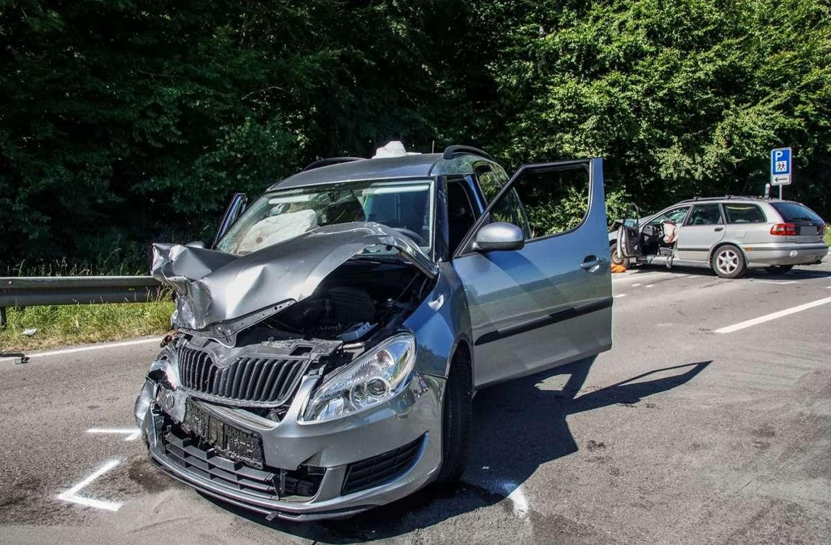 Der Unfall ereignete sich auf der K1075 im Kreis Böblingen. Foto: SDMG/ Dettenmeyer
