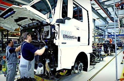 Volkswagen  will keine Lkw-Holding in Frankfurt