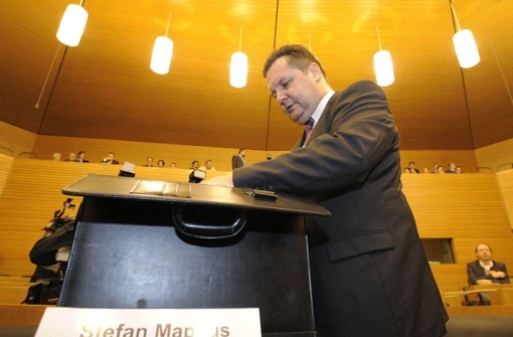 Kooperation mit dem Staatsarchiv verweigert: Ex-Premier Stefan Mappus Foto: dapd