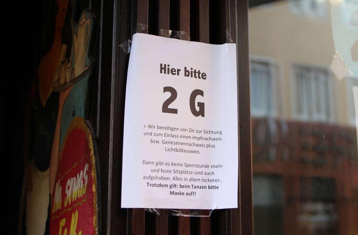 Die verschärften Coronaregeln für Ungeimpfte beschäftigen demnächst wohl auch die Gerichte im Land. (Symbolbild) Foto: imago images/Hanno Bode/Hanno Bode via www.imago-images.de