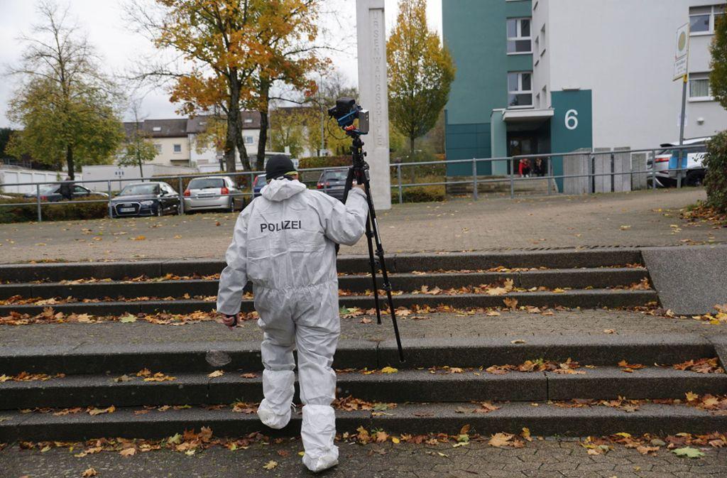 Die Beamten schließen auch einen Tötungsdelikt nicht aus.  Foto: SDMG