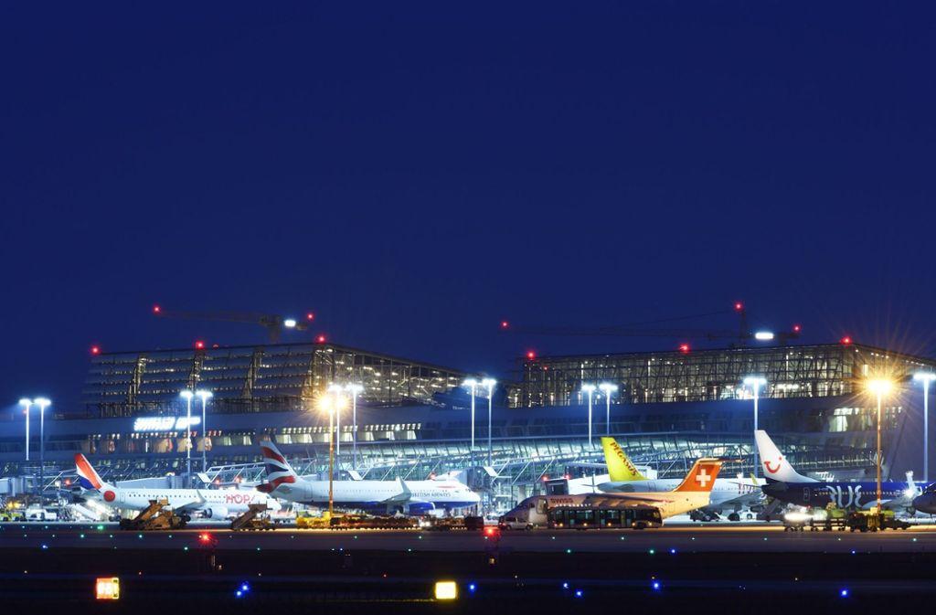 Der Flughafen Stuttgart rüstet für die Zukunft auf. Foto: dpa
