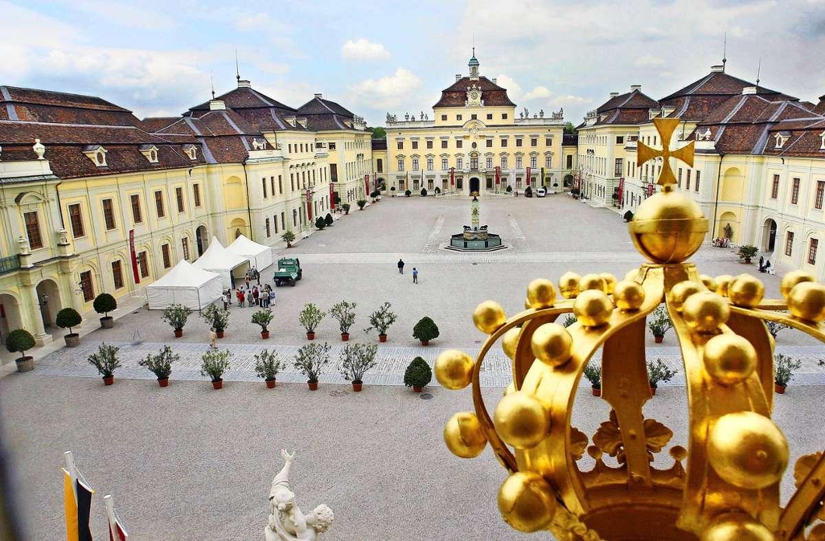 Viel los war im Schloss Ludwigsburg vergangenes Jahr nicht. Foto: factum/ranville