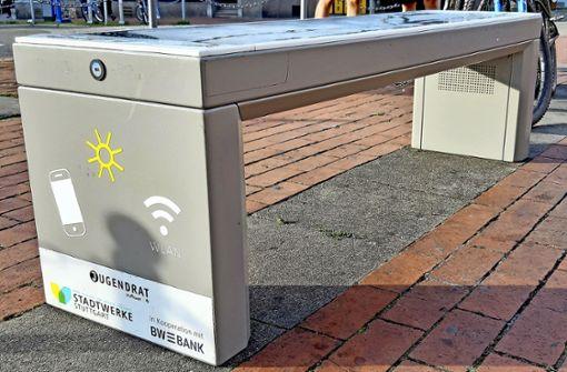 Solarbank lädt das Handy auf