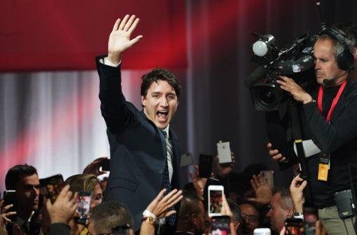 Trudeaus Liberale stärkste Kraft - Absolute Mehrheit dahin