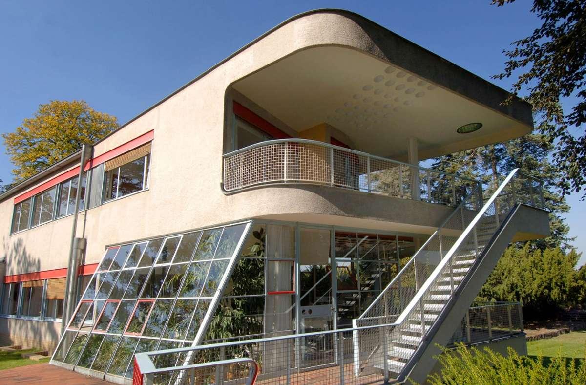 Das Haus Schminke im sächsischen Löbau wurde von Hans Scharoun entworfen und zählt zu den wichtigsten Wohnhäusern der klassischen Moderne. Foto: dpa/Matthias Hiekel
