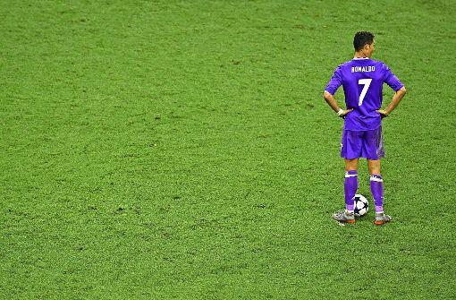 Ronaldo im Abseits