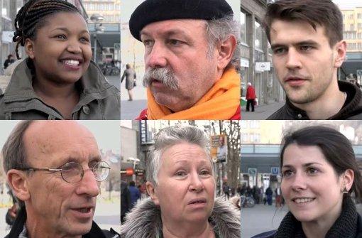 Was denken die Menschen in Baden-Württemberg über die Flüchtlingskrise, über Bildungspolitik oder das Thema Verkehr? Foto: Montage: red