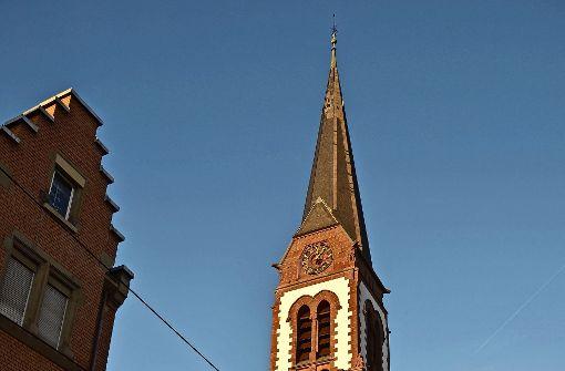 Die Schönheit der Kirche kommt zum Vorschein