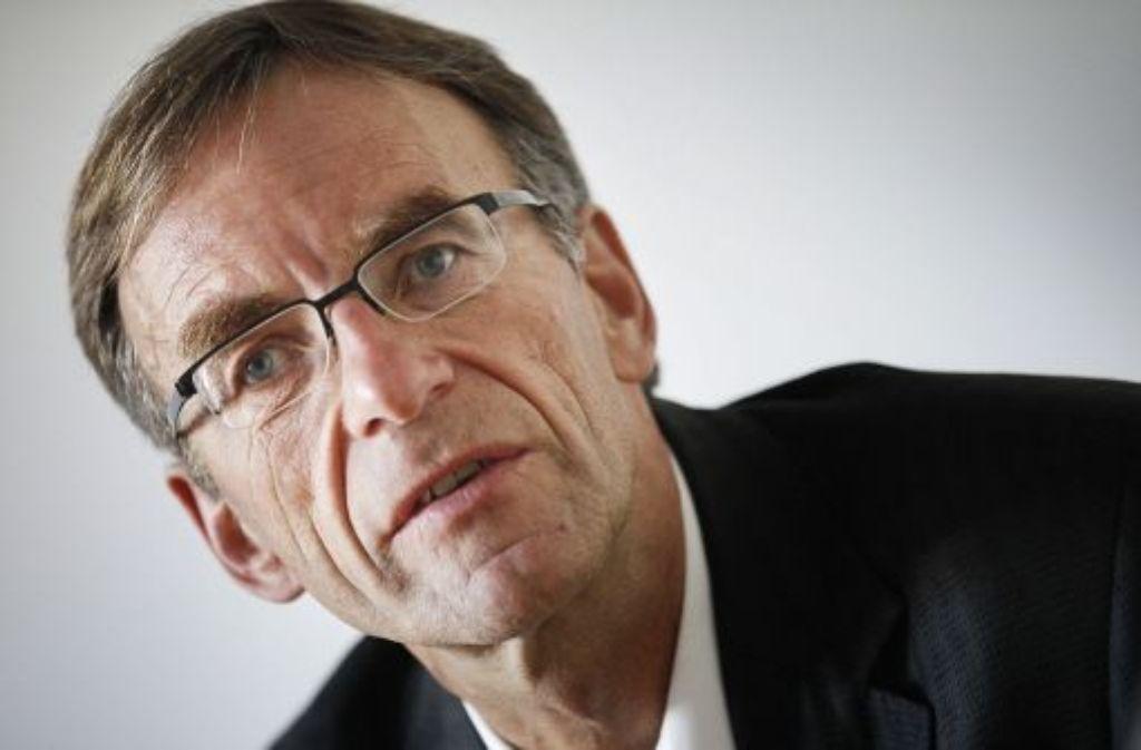 Werner Wölfle bedauert peinliche SMS. Quelle: Unbekannt