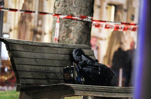 Verdächtiger Rucksack entdeckt – Polizei sperrt Bereich ab