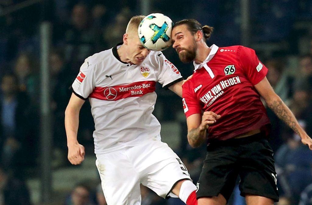 Timo Baumgartl vom VfB Stuttgart ist auf dem Weg der Besserung (Archivbild).Foto:Baumann Foto: