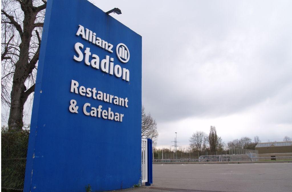 Auf dem Gelände des TSV Georgii Allianz will der Versicherungskonzern einen Bürokomplex bauen. Foto: Rüdiger Ott