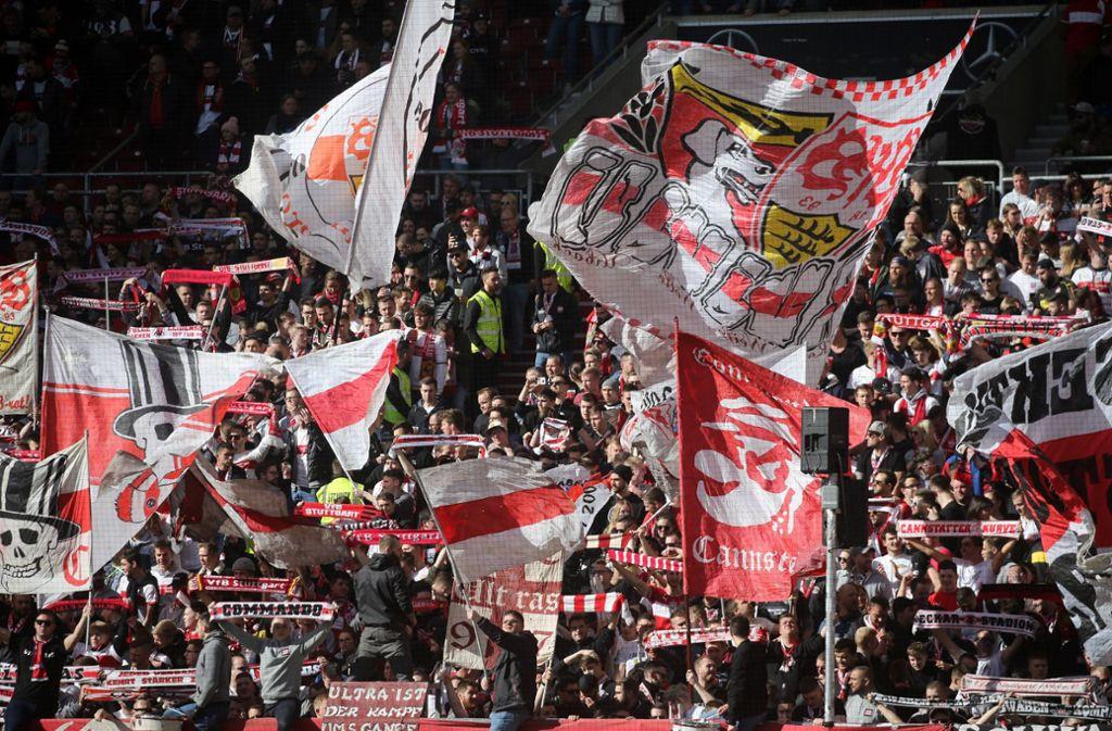 Der VfB Stuttgart kann auf eine treue Anhängerschaft bauen. Foto: imago images/Sportfoto Rudel