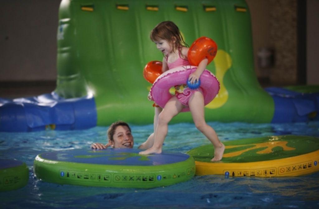 Seit einem Jahr bietet das Wonnemar großen und kleinen Besuchern Badespaß Foto: Stoppel