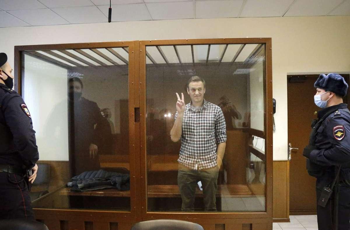 Im Fall Nawalny fordert die EU seit nunmehr rund drei Wochen erfolglos die Freilassung des Kremlkritikers. Foto: dpa/Alexander Zemlianichenko