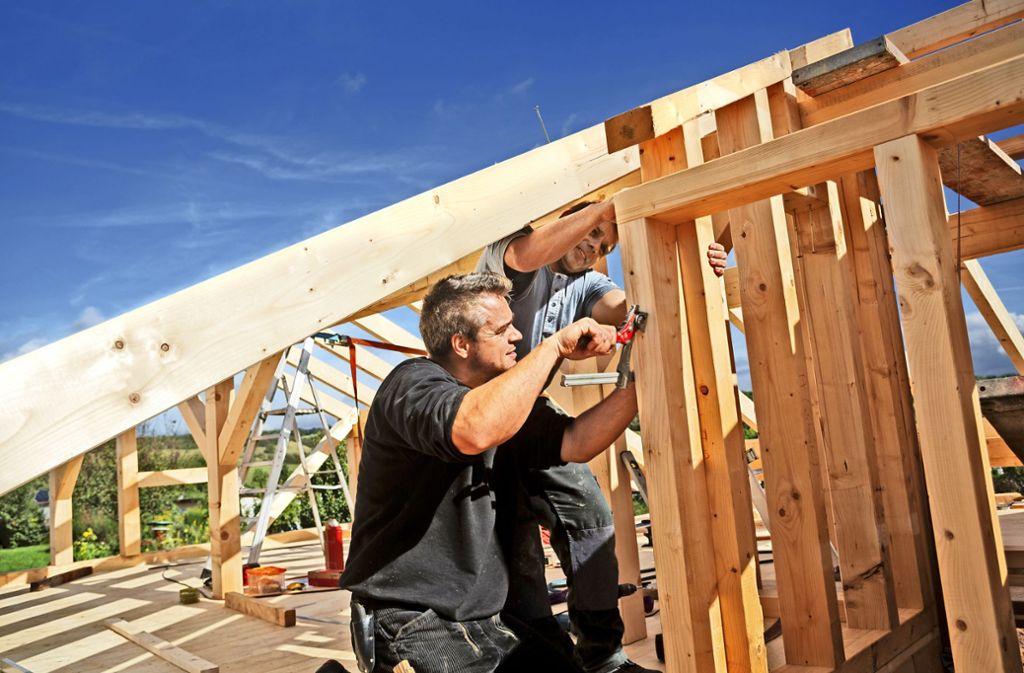 Immer mehr Architekten sind  überzeugt, dass Holz das Baumaterial der Zukunft ist. Foto: Ingo Bartussek / Adobe Stock