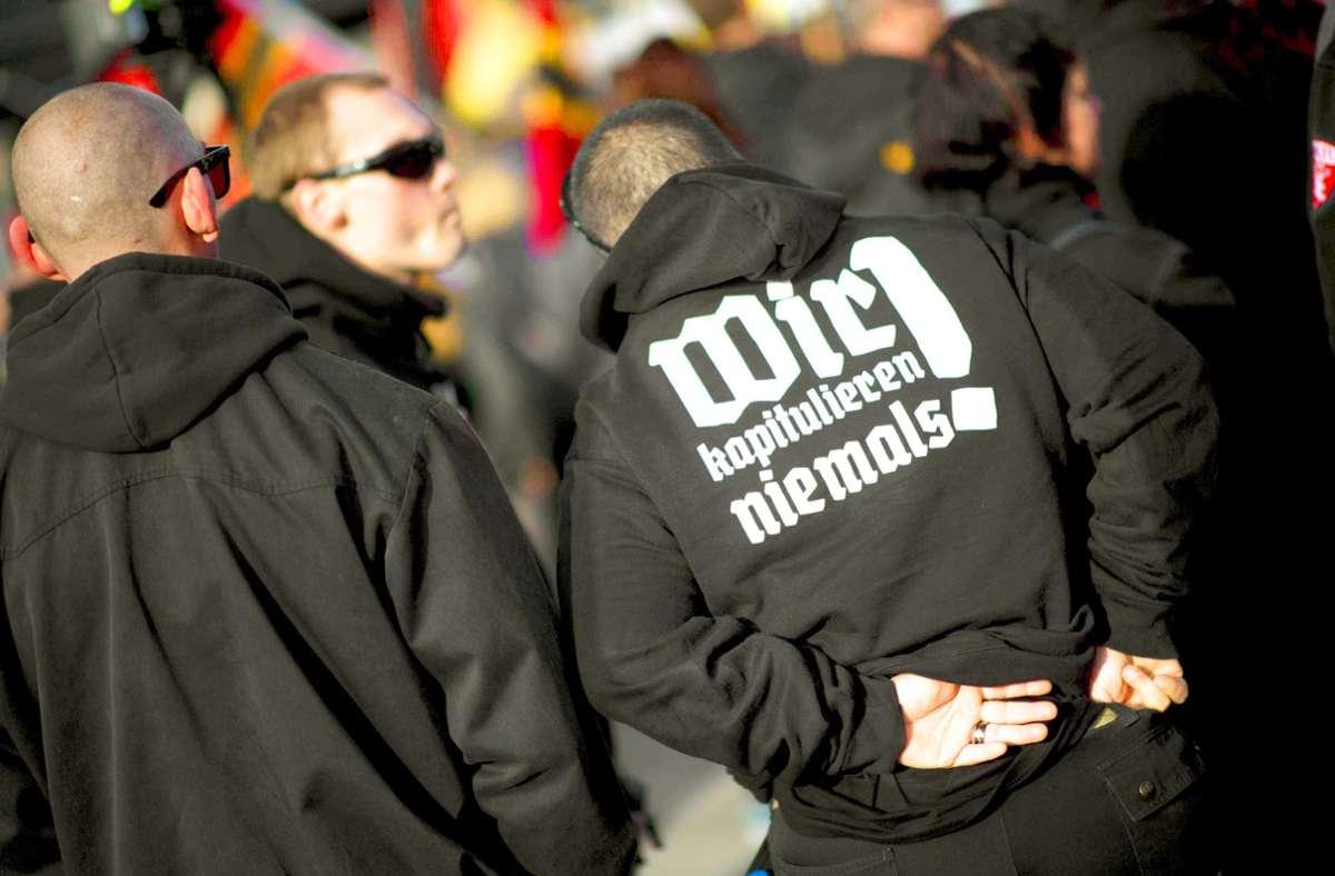Der Rechtsextremismus ist nicht die einzige, aber die größte Bedrohung, die das Bundesamt für Verfassungsschutz im Blick hat. Foto: imago/IPON/imago stock&people