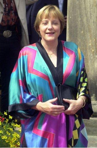 Bayreuth 2008 und 2012 Angela Merkel trägt das gleiche