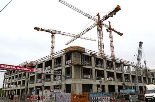 Großprojekt an der Schwieberdinger Straße