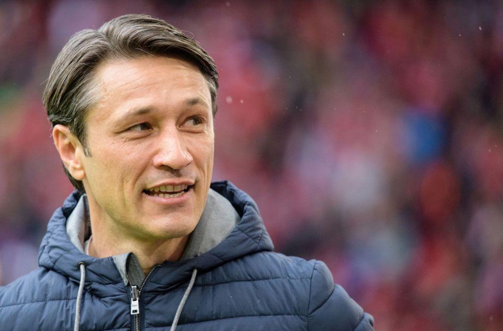 Niko Kovac will mit dem FC Bayern das Double holen Foto: dpa